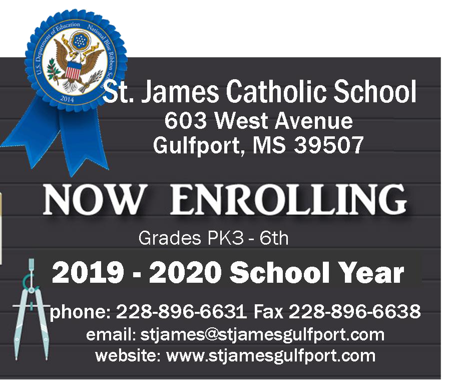 St  James Catholic School Elementary, Gulfport, Mississippi